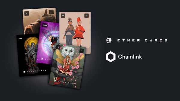 Ether Cards to Integrate Chainlink VRF for NFT FeatureToken Launch